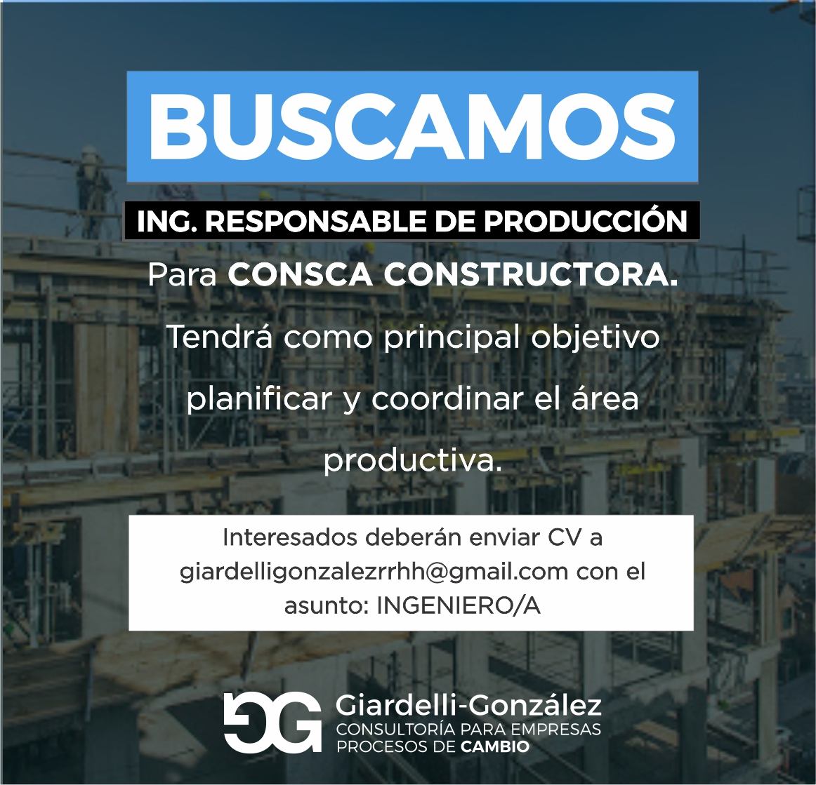 Oportunidad Laboral En Consca, Mar Del Plata